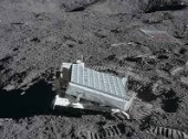 mirror array on moon