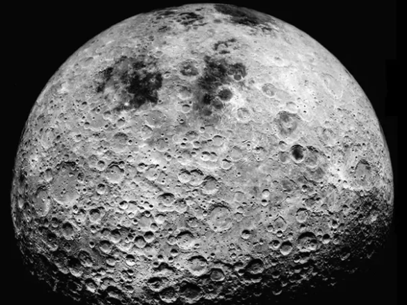No atmosphere on the moon results in no weathering and craters do not erode away.